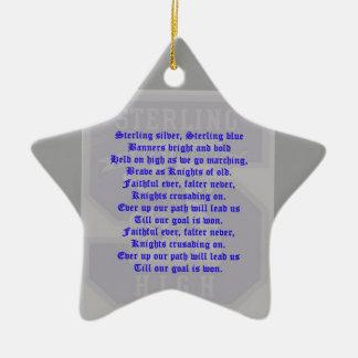 Sterling High School Alma Mater Star Ornament