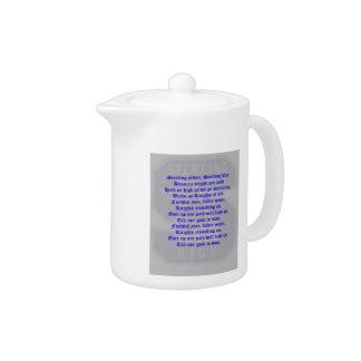 Sterling High School Alma Mater Teapot II