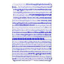Sterling High School Text Design I  Cover For The iPad Mini