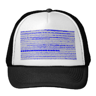 Sterling High School Text Design I Hat