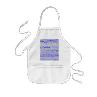 Sterling High School Text Design I Kids Apron