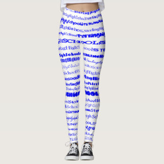Sterling High School Text Design I Leggings