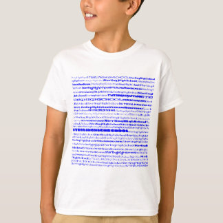 Sterling High School Text Design I Lite Shirt Kids