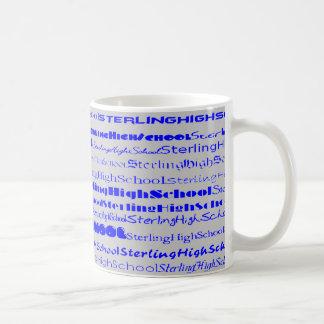 Sterling High School Text Design I Mug II