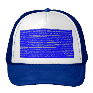 Sterling High School Text Design II Hat