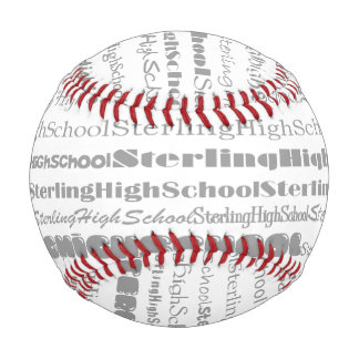 Sterling High School Text II Custom Baseball