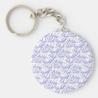 Sterling High Silver Knights Keychain
