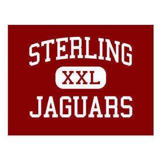 Sterling - Jaguars - Middle - Peoria Illinois Postcard