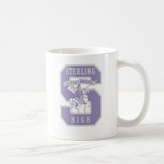 Sterling Knight Logo Ghosted Classic White Coffee Mug