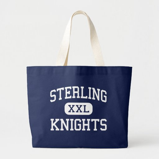 Sterling - Knights - High - Somerdale New Jersey Jumbo Tote Bag