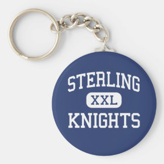 Sterling - Knights - High - Somerdale New Jersey Keychain