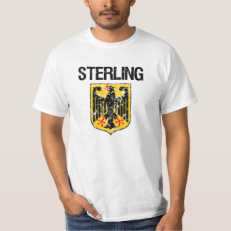 Sterling Last Name Tee Shirt