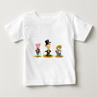 Sterling Man, Richy Bear, Busted Beaver Baby T-Shirt
