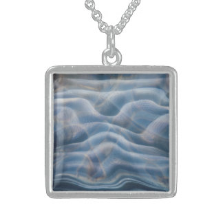 Sterling necklace with fine art photograph