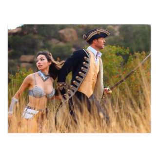 Sterling & Nilla, On The Run-Postcard