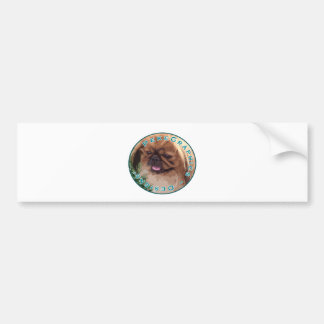 STERLING PEKE GRAPHICS LOGO BUMPER STICKER