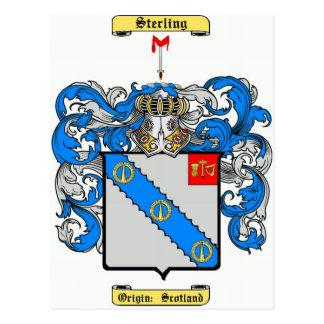 Sterling Postcard