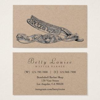 Sterling Razor Business Card