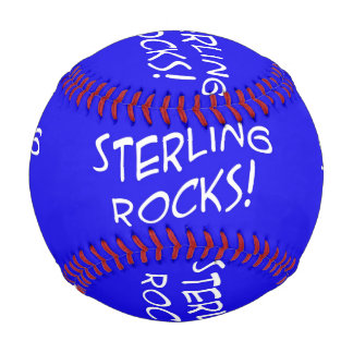 Sterling Rocks! 1 Custom Baseball