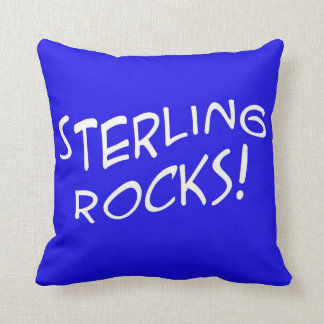 Sterling Rocks! 1 Throw Pillow