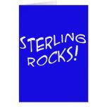 Sterling Rocks! 2 Card