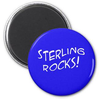 Sterling Rocks! 2 Magnet