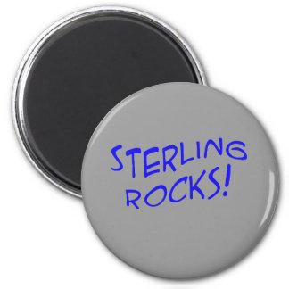 Sterling Rocks! Magnet