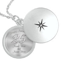 Sterling Silver Anniversary Gifts for Wife Sterling Silver Necklace
