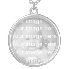 Sterling Silver Baby Photo Necklace at Zazzle