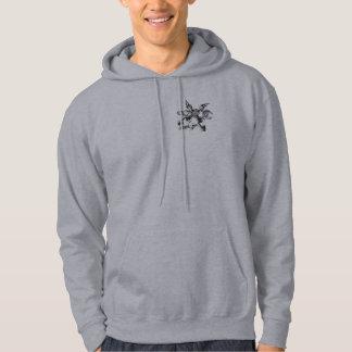 """""""sterling silver"""" by kasi jo hooded sweatshirt"""