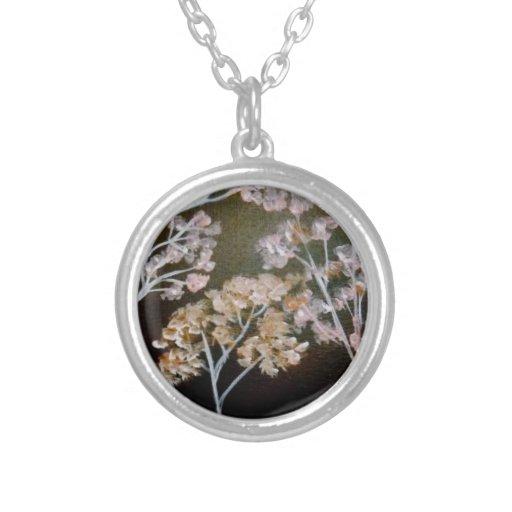 Sterling Silver Cherry Blossom Pendant