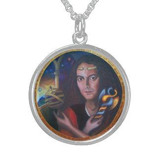 Sterling silver Hermes amulet Sterling Silver Necklace