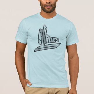 Sterling Silver Hockey Blades T-Shirt