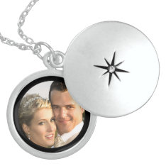 Sterling Silver Locket Necklace With Picture at Zazzle
