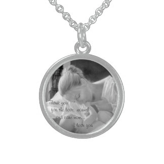 Sterling Silver Mother's Day Necklace