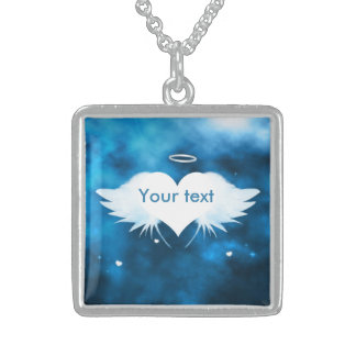 Sterling Silver Necklace - Angel of the Heart