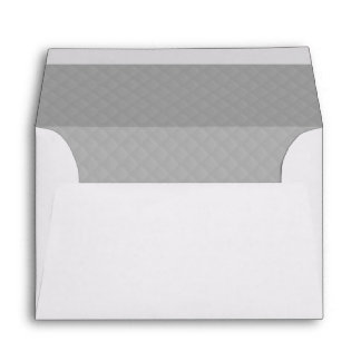 Sterling Silver Quilted Pattern Envelopes