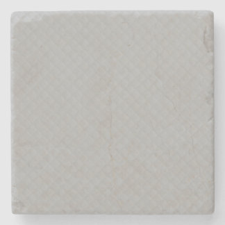 Sterling Silver Quilted Pattern Stone Coaster
