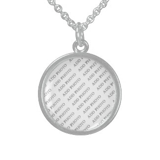 Sterling Silver Sm Round Necklace