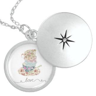 Sterling Silver Tea Cup Locket