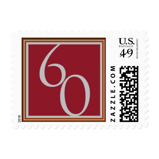 Sterling Sixty Stamp