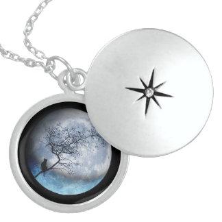Sterling sliver Moon necklace