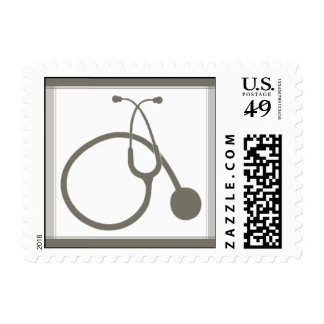 Sterling Stethoscope Postage Stamps