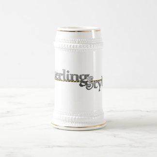 Sterling Style Stein 18 Oz Beer Stein