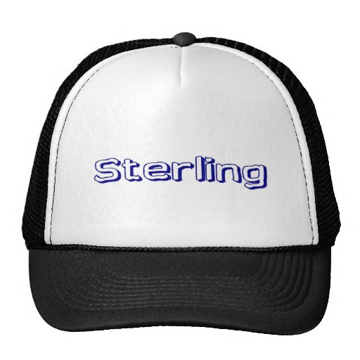 Sterling Trucker Hats