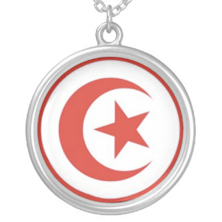 Sterling Tunisian symbol Necklace