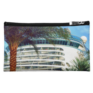 Stern Aspect Ship in Port Cosmetic Bag