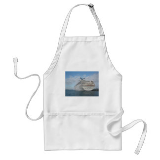 Stern of the Carnival Sensation Cruise Ship Adult Apron