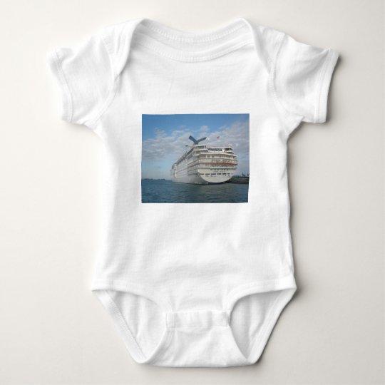 Stern of the Carnival Sensation Cruise Ship Baby Bodysuit