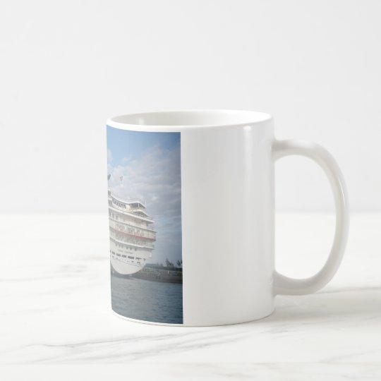 Stern of the Carnival Sensation Cruise Ship Coffee Mug